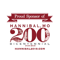 Proud Sponsor of Hannibal, MO 200 Bicentennial