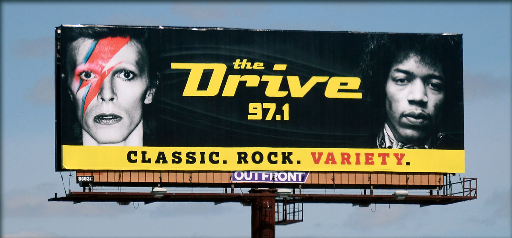 97.1 The Drive - Classic Rock Variety - Radio Station Billboard