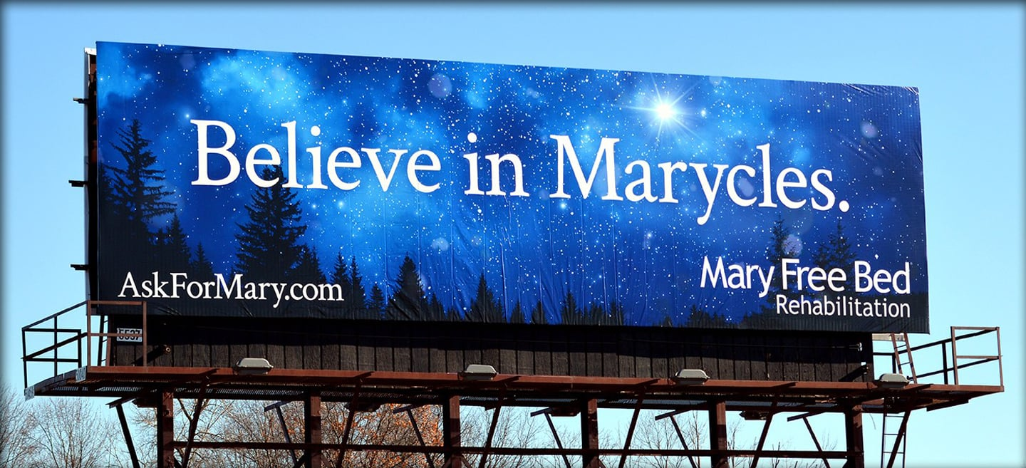 Believe in Marycles Billboard