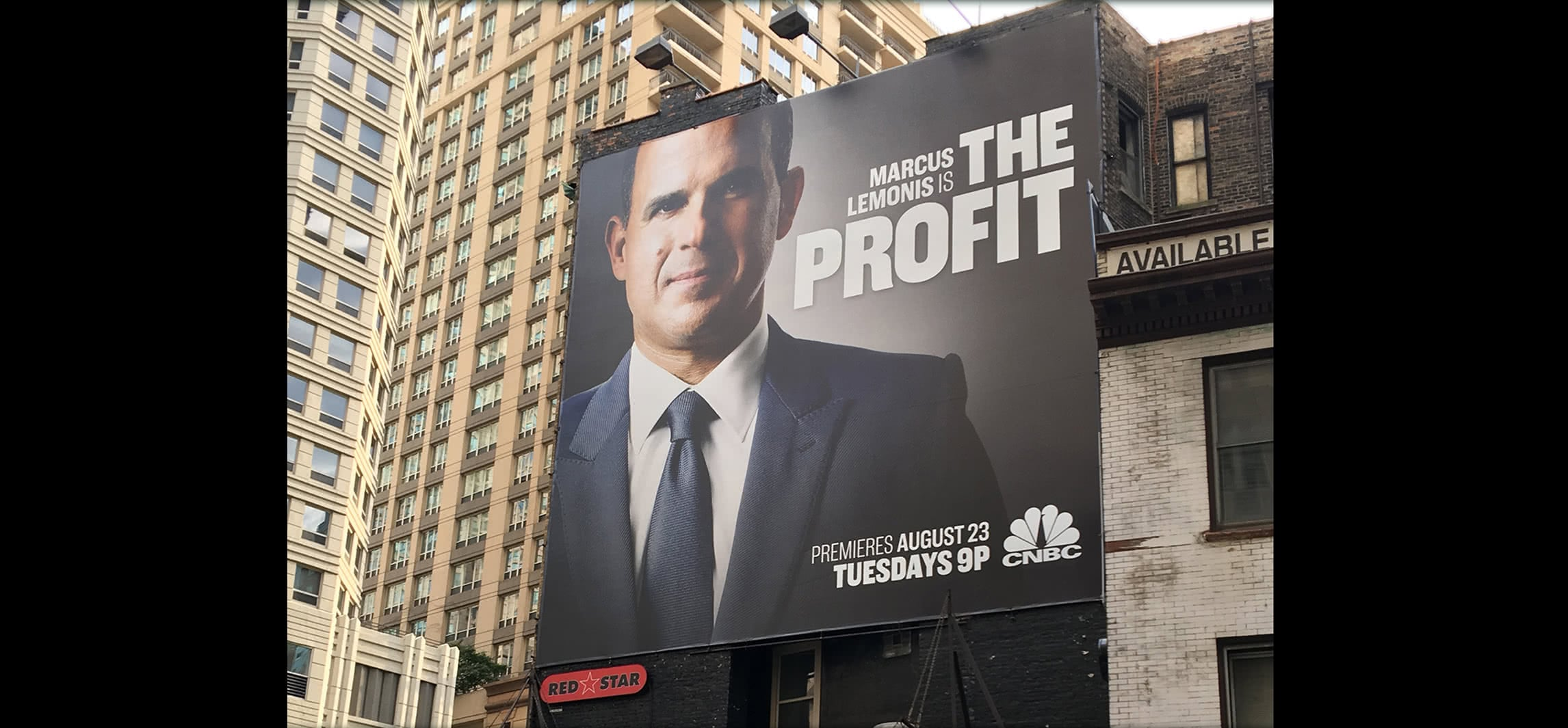 CNBC - The Profit - Billboard