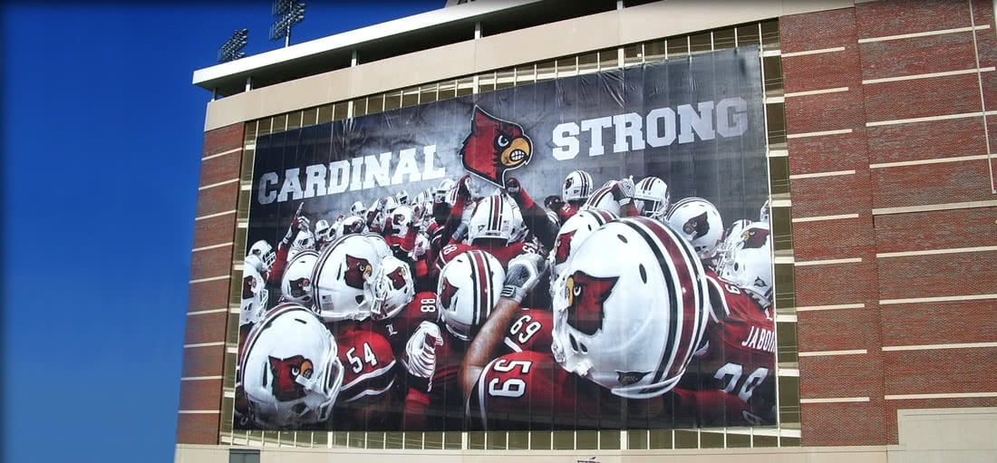 Cardinals Strong Billboard