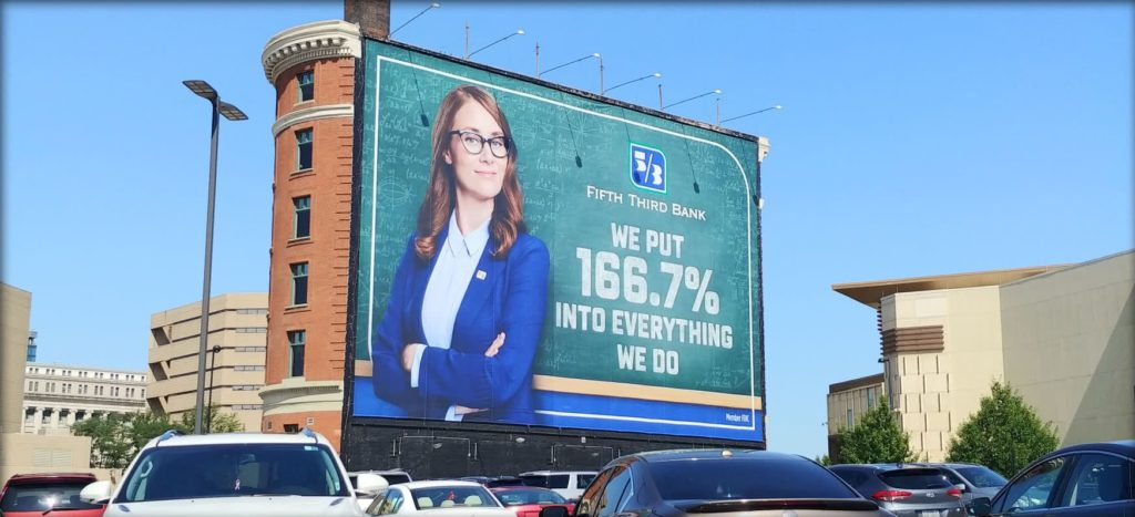 Fifth Third Bank Billboard