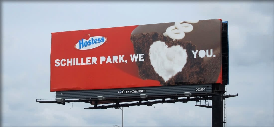 Hostess Billboard