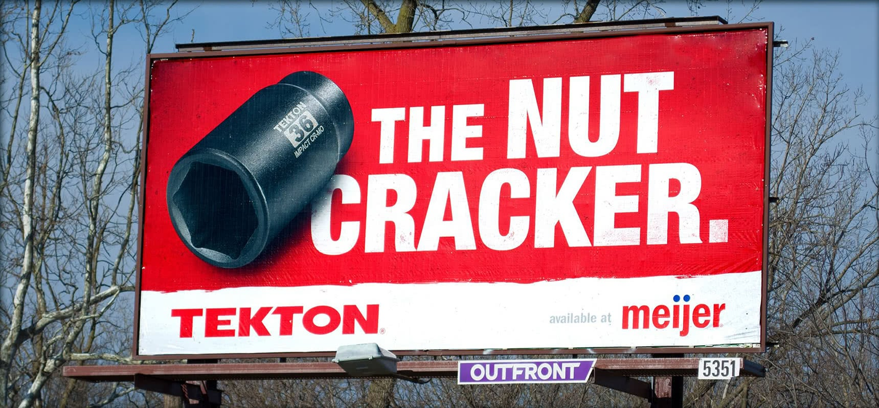 Meijer - The Nut Cracker Billboard