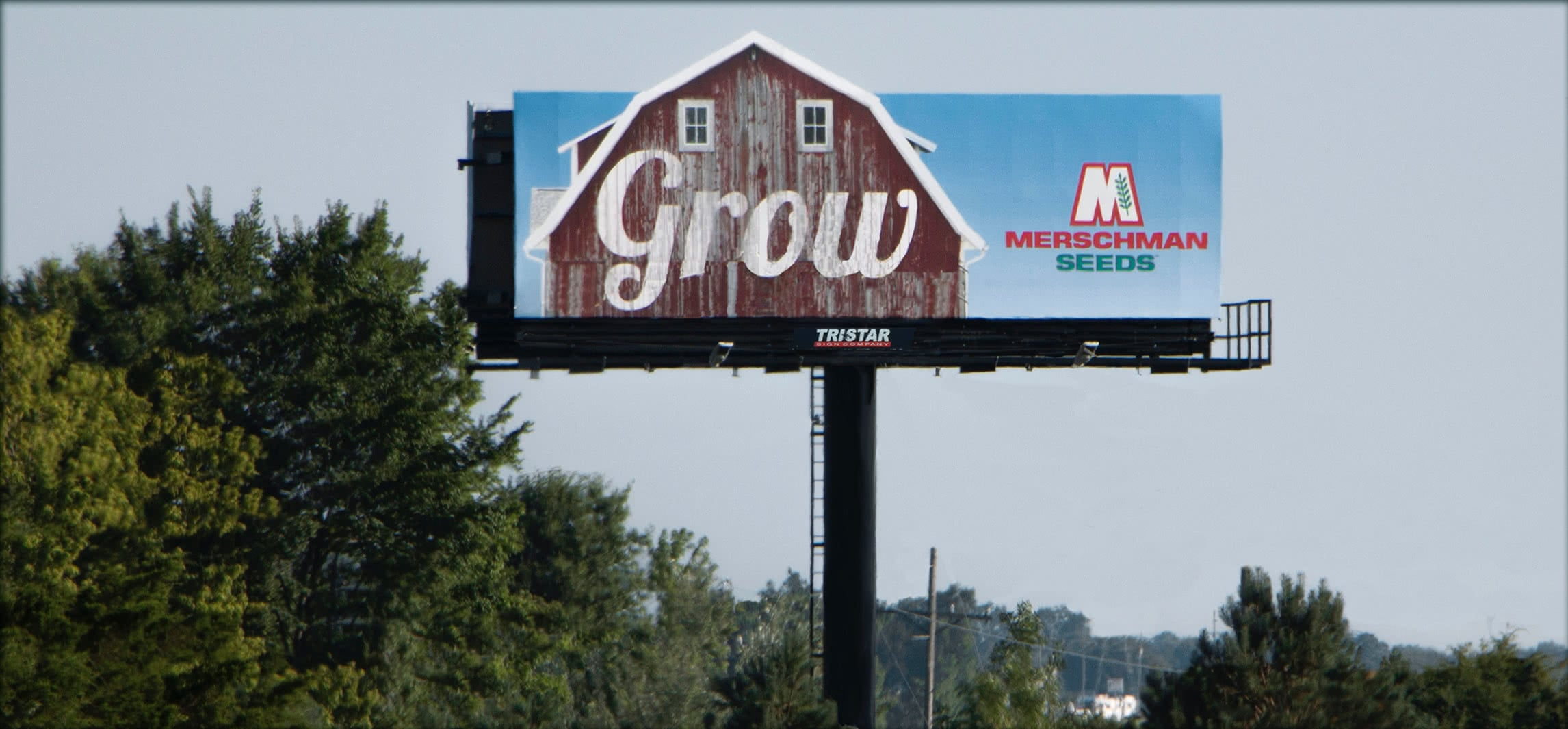 Merschman Seeds Billboard