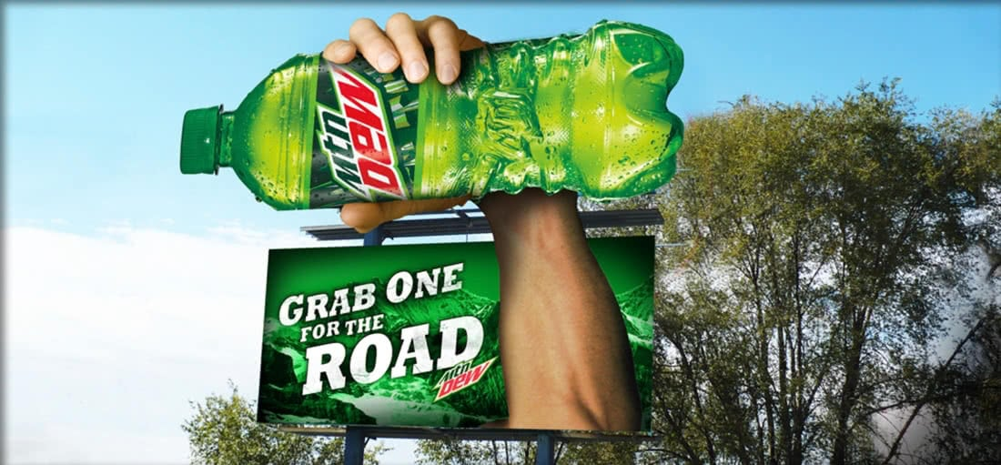 Mountain Dew Double Billboard