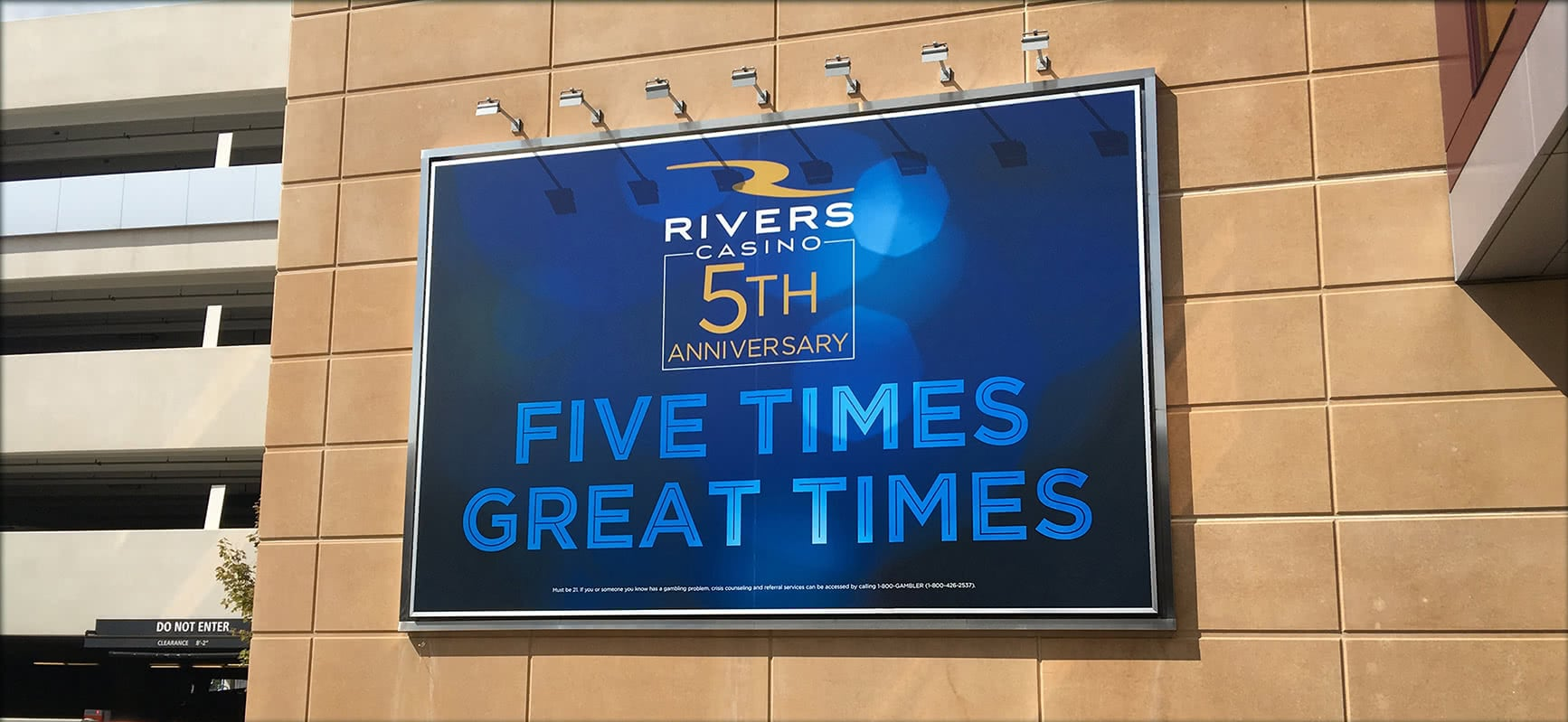 Rivers Casino Sign