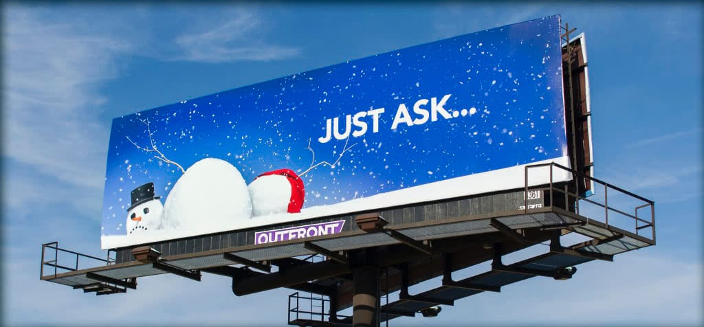 Snowman - Just Ask... Billboard