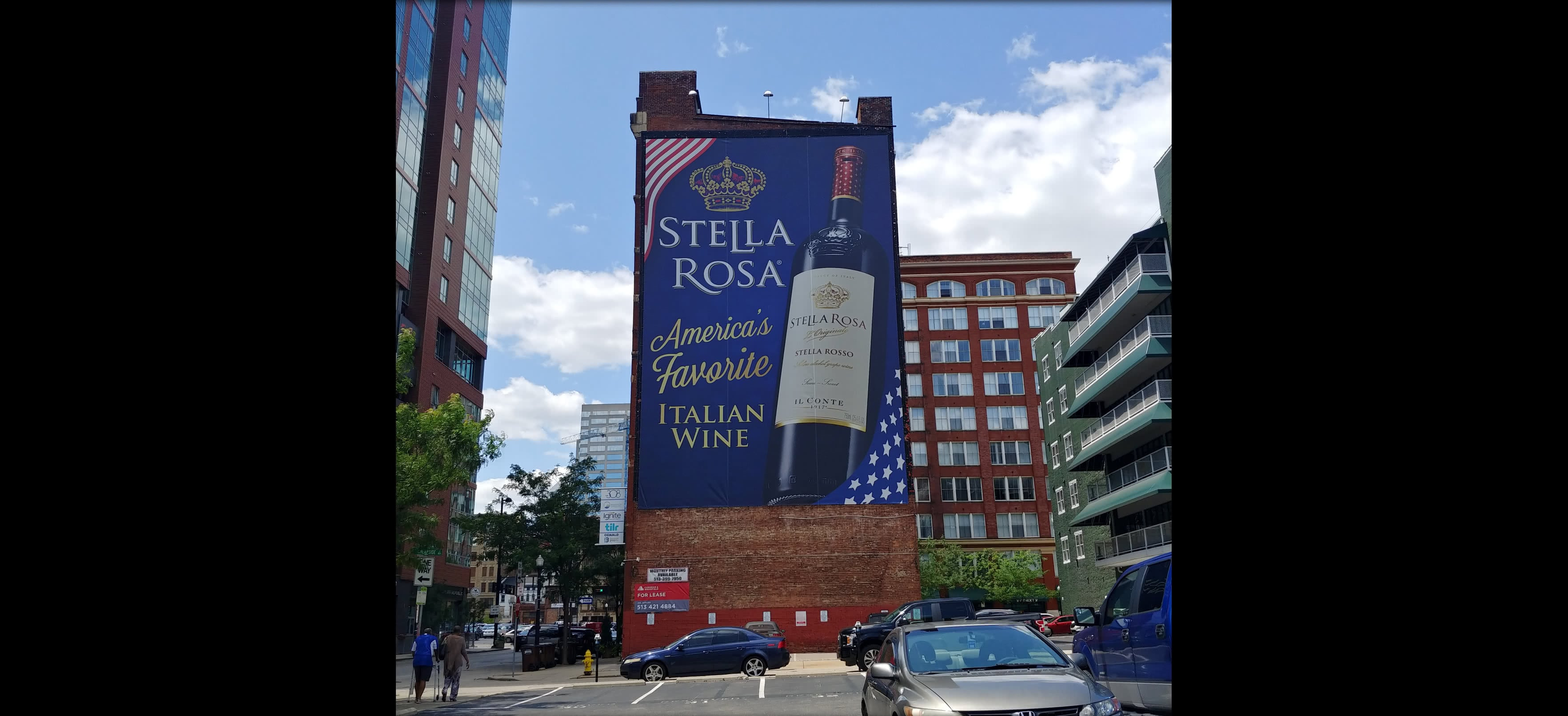 Stella Rosa Building Sign