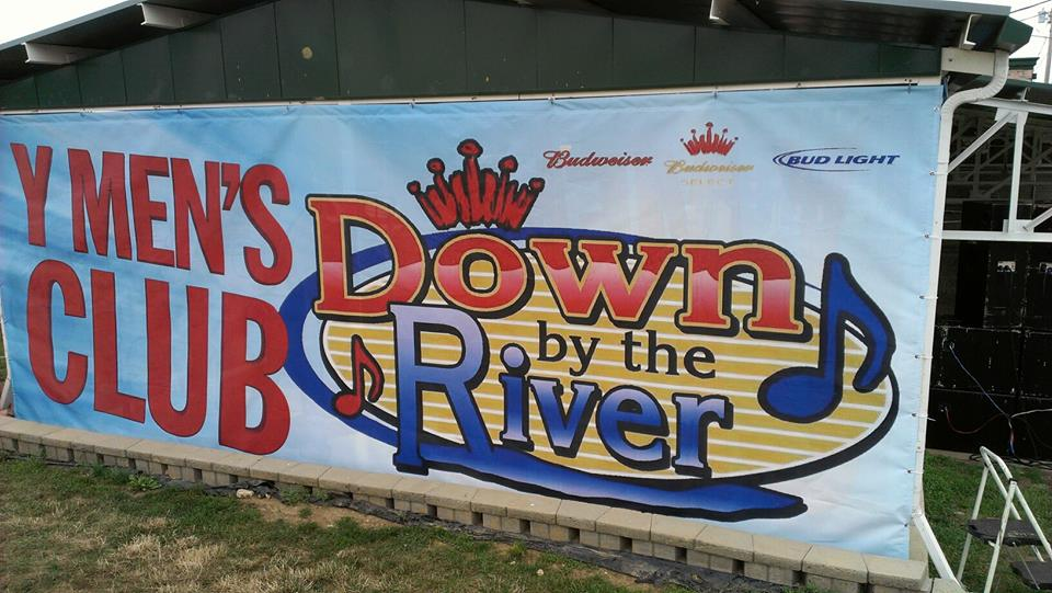 Down by The River Banner
